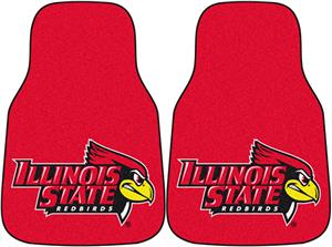 Fan Mats Illinois State Univ Carpet Car Mats (set)