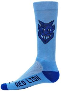 Red Lion Blue Devil Crew Socks