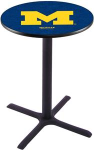 University of Michigan Pub Table X Style Base