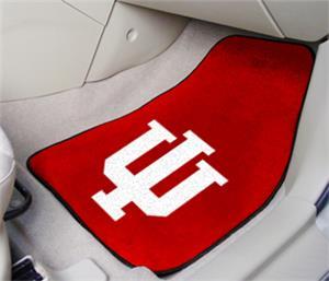 Fan Mats Indiana University Carpet Car Mats