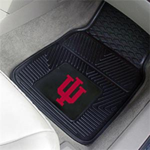 Fan Mats Indiana University Vinyl Car Mats (set)