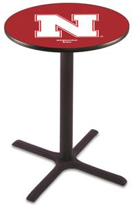 University of Nebraska Pub Table X Style Base