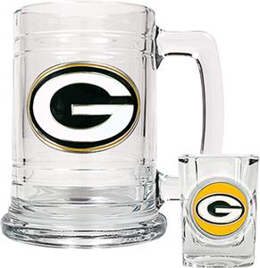 NFL Green Bay Packers Boilermaker Gift Set