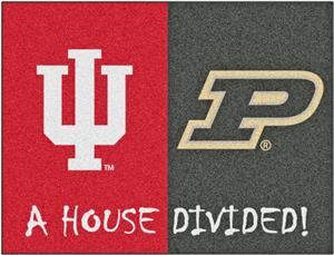 Fan Mats Indiana/Purdue House Divided Mat