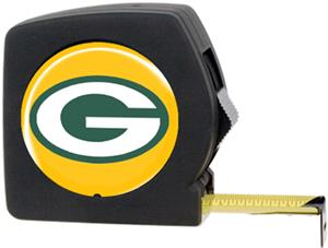 NFL Green Bay Packers 25' Tape Measure with Logo