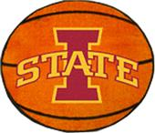 Fan Mats Iowa State University Basketball Mat