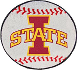 Fan Mats Iowa State University Baseball Mat