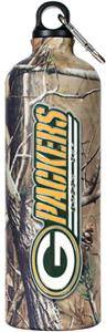 NFL Green Bay Packers 32oz RealTree Water Bottle