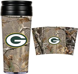 NFL Green Bay Packers 16oz Realtree Travel Tumbler