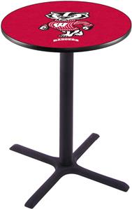 Univ of Wisconsin Badger Pub Table X Style Base