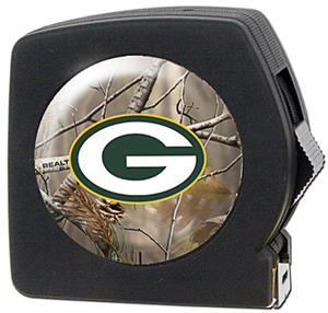 NFL Green Bay Packers 25' RealTree Tape Measure