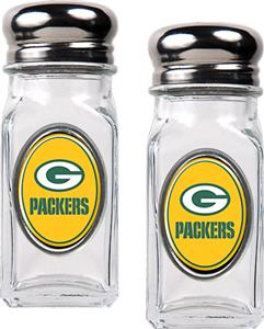 NFL Green Bay Packers Salt and Pepper Shaker Set