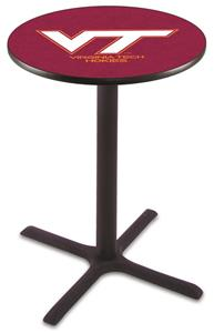 Virginia Tech University Pub Table X Style Base
