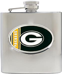 NFL Green Bay Packers 6oz Stainless Steel Flask