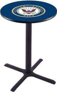 United States Navy Pub Table X Style Base