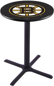 Boston Bruins NHL Pub Table X Style Base