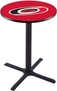 Carolina Hurricanes NHL Pub Table X Style Base