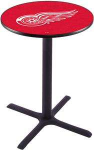 Detroit Red Wings NHL Pub Table X Style Base