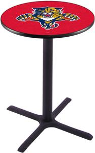 Florida Panthers NHL Pub Table X Style Base