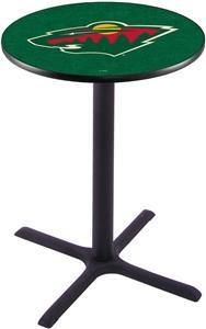 Minnesota Wild NHL Pub Table X Style Base
