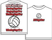 Utopia volleyball Win Together Short Sleeve Tshirt