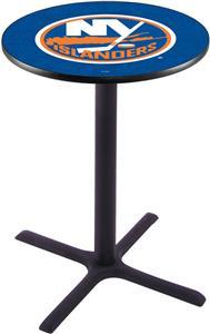 New York Islanders NHL Pub Table X Style Base