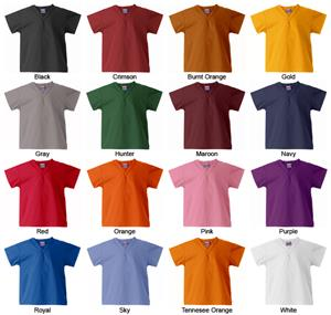 Gelscrubs Kid's Classic Scrub Tops - 15 Colors