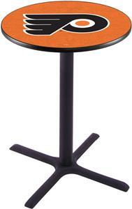 Philadelphia Flyers NHL Orn Pub Table X Style Base