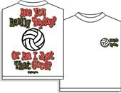 Utopia Volleyball Are You Trying? Tshirt
