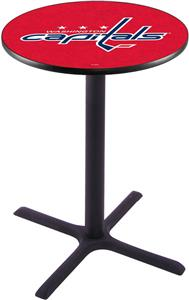Washington Capitals NHL Pub Table X Style Base