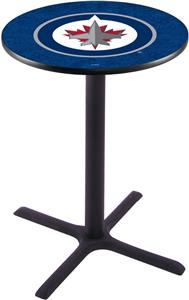 Winnipeg Jets NHL Pub Table X Style Base