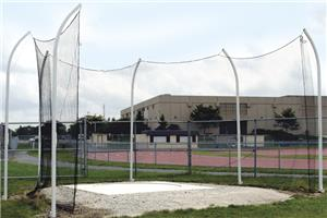 Gill Athletics High School Steel Discus Nets