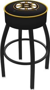 Boston Bruins NHL Blk or Chrome Bar Stool
