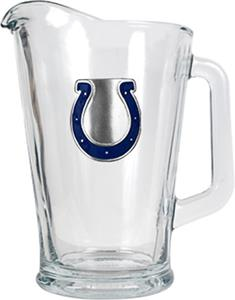 NFL Indianapolis Colts 1/2 Gallon Glass Pitcher