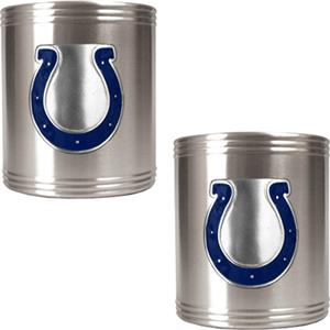 NFL Indianapolis Colts Stainless Steel Can Holders