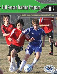 Full Season Soccer Training Prog- U12 8 v 8 (BOOK)