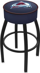 Colorado Avalanche NHL Blk or Chrome Bar Stool