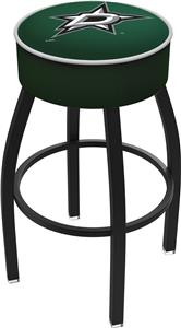 Dallas Stars NHL Blk or Chrome Bar Stool