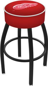 Detroit Red Wings NHL Blk or Chrome Bar Stool