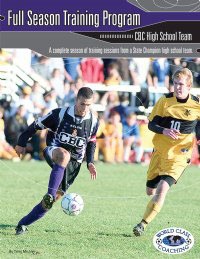 Full Season High School Soccer Training (BOOK)