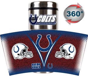 NFL Indianapolis Colts Tumbler (Logo & Team Name)