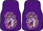 Fan Mats James Madison Univ Carpet Car Mats (set)