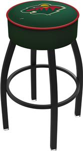 Minnesota Wild NHL Blk or Chrome Bar Stool
