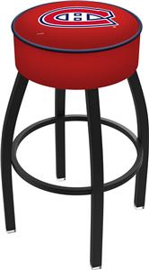 Montreal Canadiens NHL Blk or Chrome Bar Stool