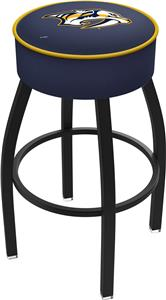 Nashville Predators NHL Blk or Chrome Bar Stool