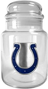 NFL Indianapolis Colts Glass Candy Jar