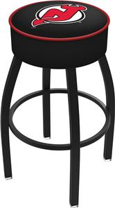New Jersey Devils NHL Blk or Chrome Bar Stool
