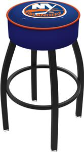 New York Islanders NHL Blk or Chrome Bar Stool