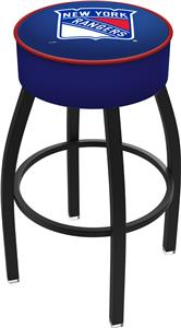 New York Rangers NHL Blk or Chrome Bar Stool