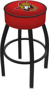 Ottawa Senators NHL Blk or Chrome Bar Stool